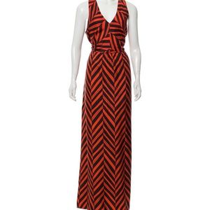 Milly Silk Maxi Dress size 6